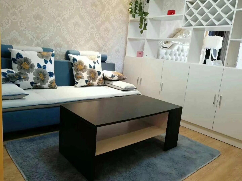 东二环泰禾广场商圈 保利香槟国际 高层精装单身公寓 拎包即住